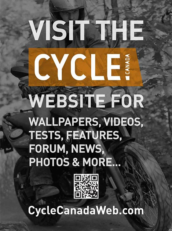 Cycle Canada Magazine - Print Ad for Website design by Filip Jansky