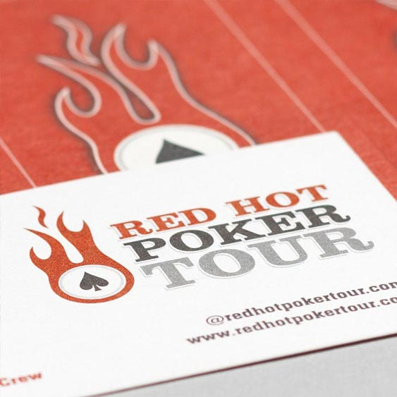 Red Hot Poker Tour - Brand Logo and Stationery design by Filip Jansky