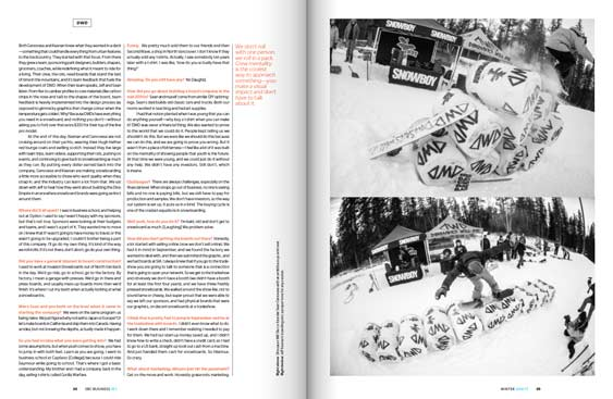 SBC Business 19 magazine editorial design by Filip Jansky