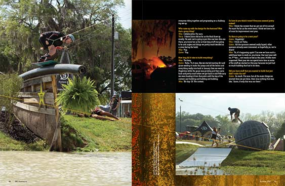 SBC Wakeboard 19 magazine editorial design by Filip Jansky